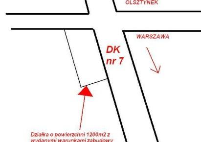 działka na sprzedaż - Nidzica (gw), Kanigowo